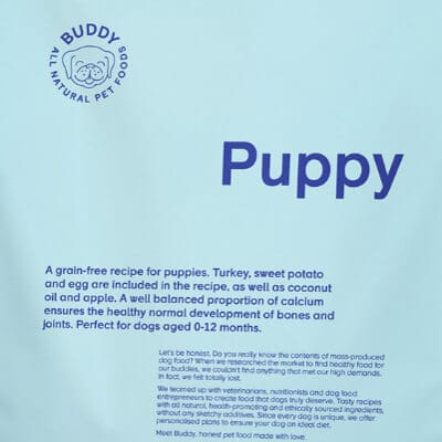 Buddy Pet Foods Puppy