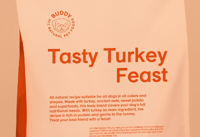 Tasty Turkey Feast hundfoder