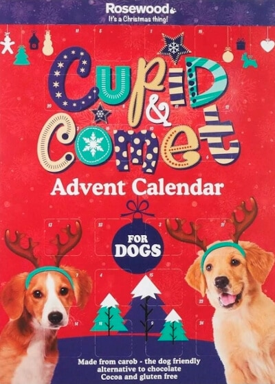 Cupid & Comet adventskalender hund