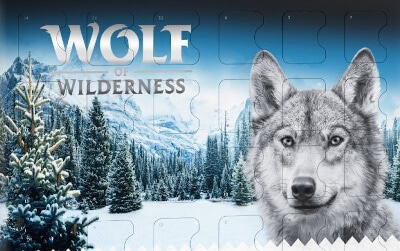 Wolf of Wilderness spannmålsfri adventskalender